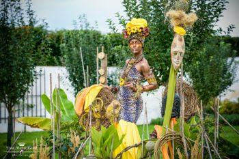 Živé sochy Sinela Afrika