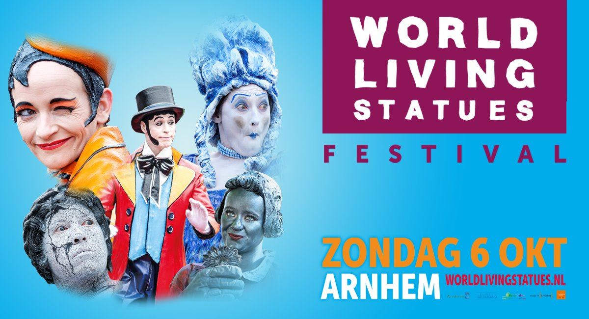 Světový festival živých soch Holandsko 2019
